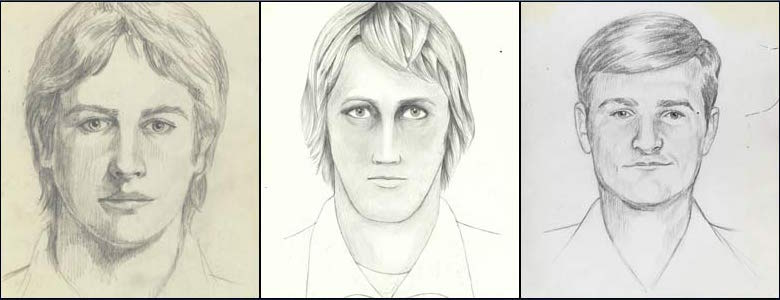 The detectives did not connect between the murders he committed. Facial composites from the beginning of the chase after DeAngelo | Source: Wikipedia