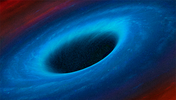 Simulation of a black hole | Source: Science Photo Library